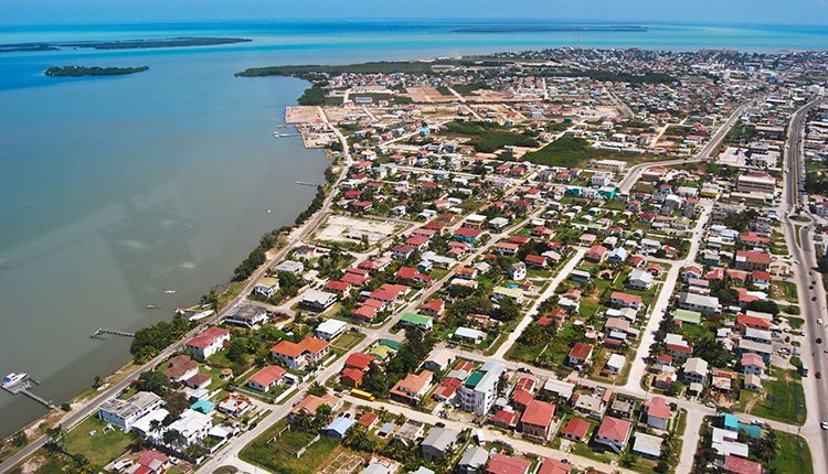 view-Belize-City